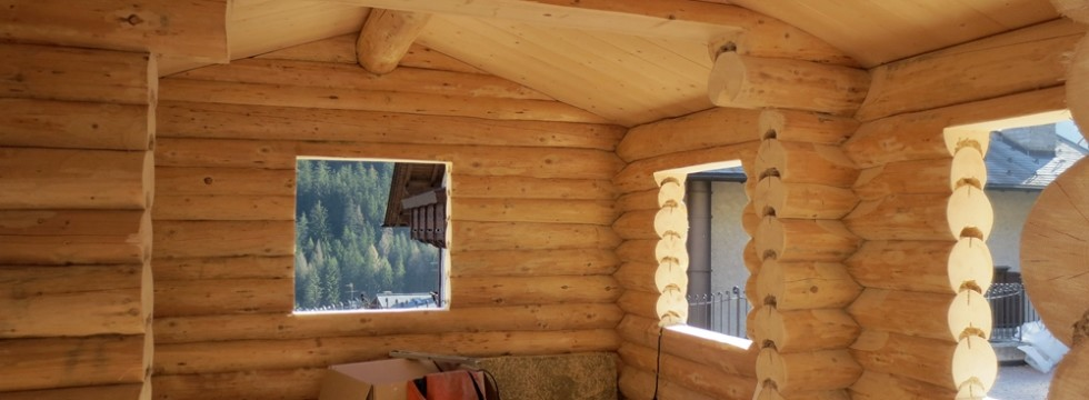 Magatelli Log Homes Case e Saune in Tronchi artigianali ...